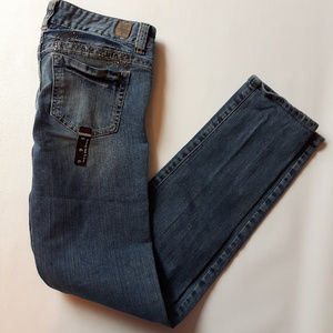 Guess Daredevil Skinny Leg Jeans Bling 27/6